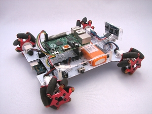 T-Quad with Raspberry Pi